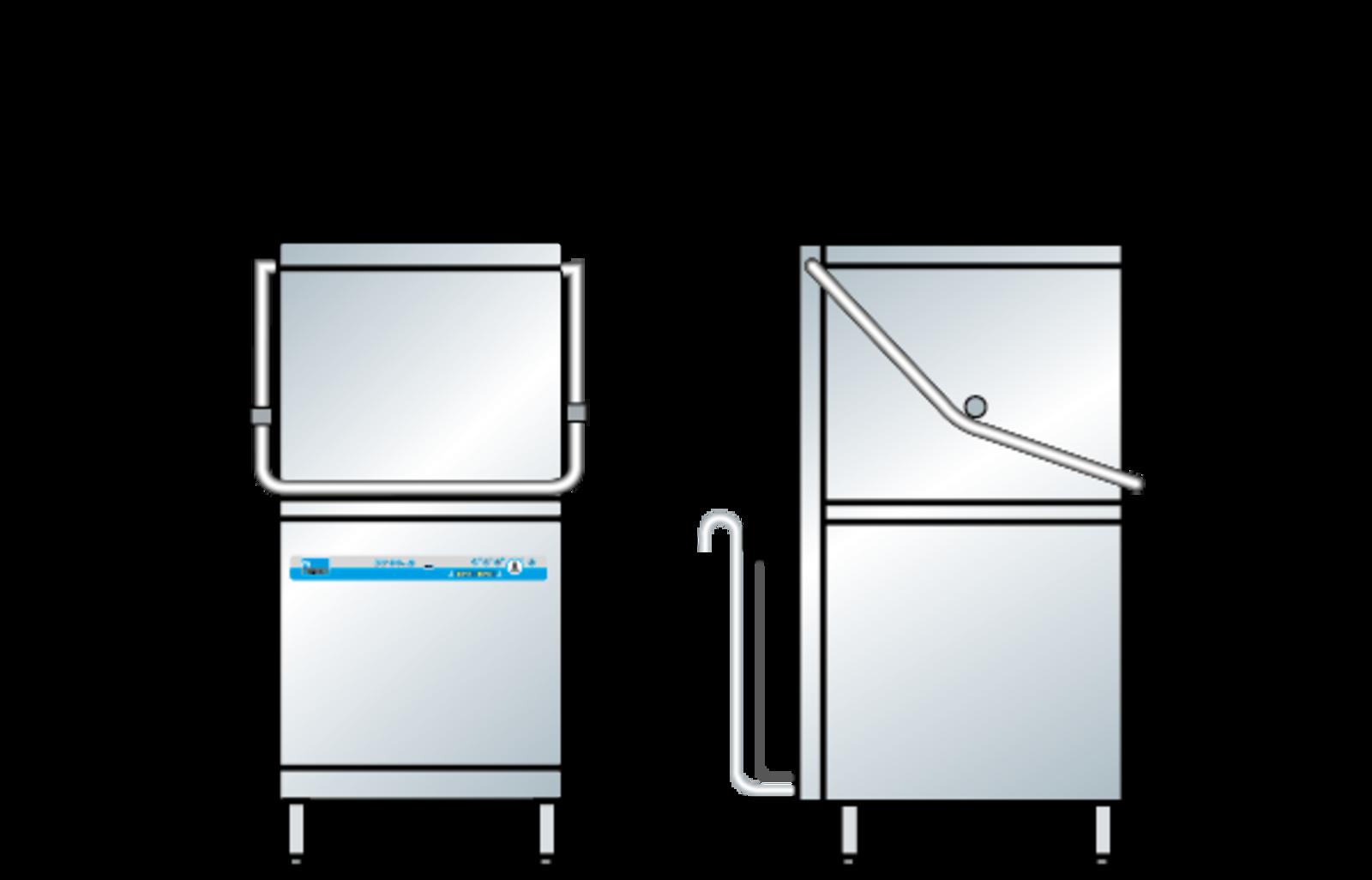 Premium-quality pass through dishwasher - MEIKO UK