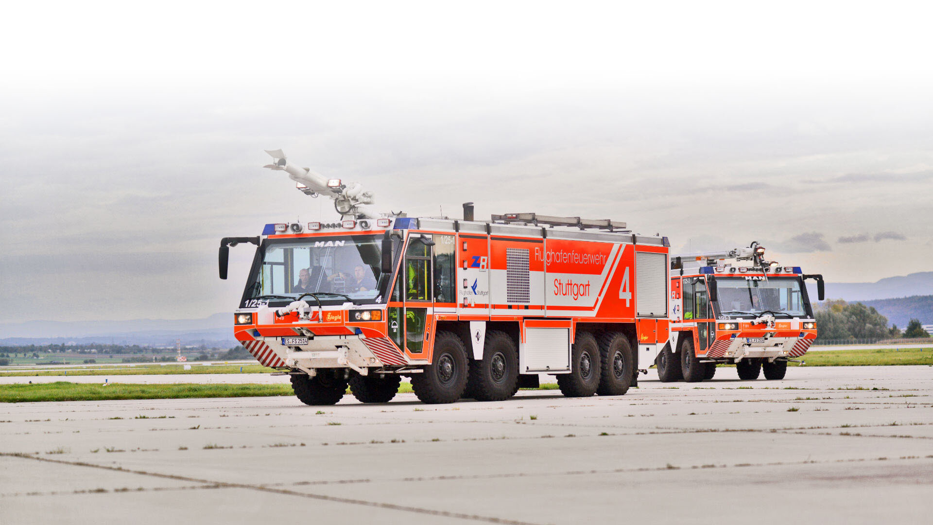 Airport Fire Service in Stuttgart