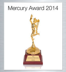 MERCURY AWARD Gold